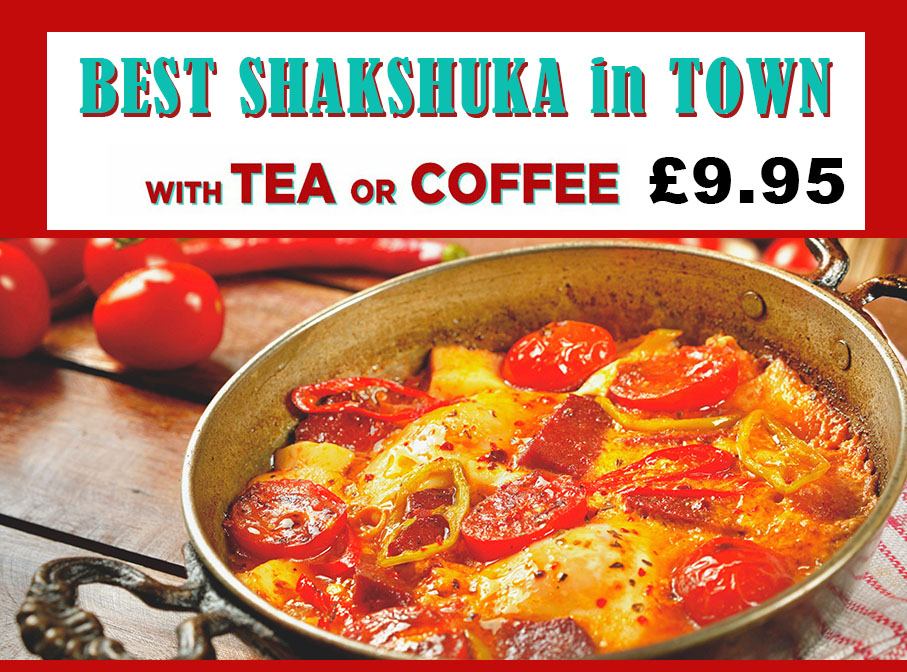 Pera Restaurant Shakshuka Offer